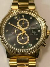 $575 Citizen Men's Watch Nighthawk Chronograph FB3002-61E