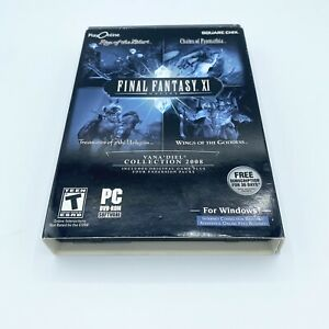 FINAL FANTASY XI Online Vana'Diel 2008 Collection - OFFICIAL preowned PC Windows