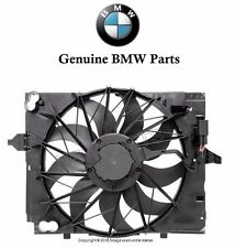 BMW E60 E63 Cooling Fan Assembly with Shroud Genuine 17 42 7 534 911