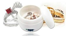 Ultrasonic Energy Jewellery Cleaner Fast & Easy To Use Removes Dirt Dust Grime