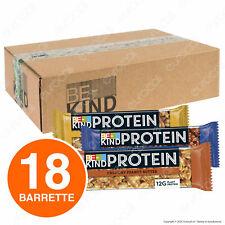 Box Barrette Be-Kind Protein Snack con Frutta Secca 3 Gusti 18 Barrette da 40g
