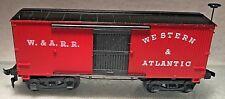 Western and Atlantic Railroad  W. & A. R.R. Boxcar Mantua No.317-A Vintage C1959