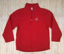St. Louis Cardinals Antigua 1/4th Zip Fleece Pullover Top ~ Youth XL ~ Red MLB