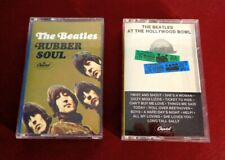 THE BEATLES - RUBBER SOUL & HOLLYWOOD BOWL Capitol EMI 1977-78 Cassette Tapes