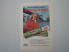 advertising Pubblicità 1974 GOMME CHEWING GUM BROOKLYN PERFETTI