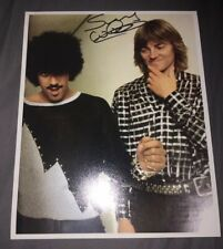 SIGNED SNOWY WHITE 10X8 PHOTO THIN LIZZY ROGER WATERS RARE