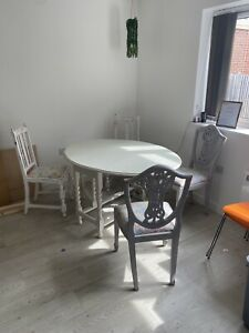 Job Lot Shabby Chic Tables And Chairs
