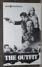 THE OUTFIT original 1973 MGM pressbook ROBERT DUVALL/ROBERT RYAN/JOE DON BAKER