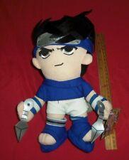 """Naruto - Sasuke 12"""" Plush 2003 Banpresto"""