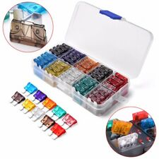 100 x ATC/ATO Car Automotive Boat Truck Blade Fuse Assortment Kit Standard Case