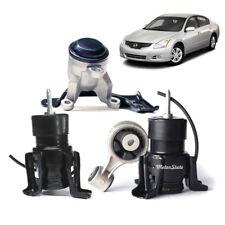 For 08-13 Nissan Altima 3.5L Engine Motor Mounts Kit 4PCS Hydraulic