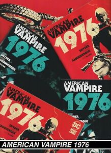 AMERICAN VAMPIRE: 1976 1-6 NM 2020 2021 you pick  Snyder Albuquerque Vertigo