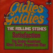 "ROLLING STONES - SATISFACTION - OLDIES BUT GOLDIES    DECCA 611166 7"" (J99M)"