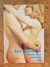 More details for fabulous early 1970's ann summers marble arch catalogue
