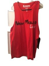Campus Couture New Mexico Lobos Red Tank Top Shirt - Size Medium  - 100% Cotton