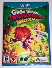 Giana Sisters Twisted Dreams Director's Cut (Nintendo Wii U) NEW SEALED Game