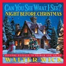 Can You See What I See? Night Before Christmas by Walter Wick c2005 VGC HC