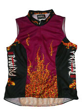 Primal LIZARD of AHHHs Sleeveless Cycling Jersey, Women's M