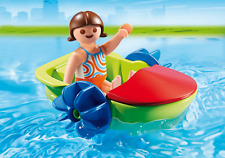 Playmobil #6675 Children's Paddle Boat - New Factory Sealed