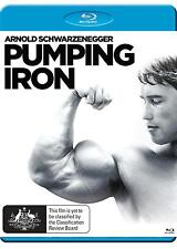 PUMPING IRON (Arnold Schwarzenegger) -  Blu Ray - Sealed Region B for UK