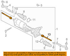 AUDI OEM 09-16 Q5 Steering Gear-Inner Tie Rod End (Qty 1) 4H0422810A