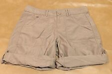NWT The North Face Women Shorts Beige Roll Up Outdoor Hike New Size 4