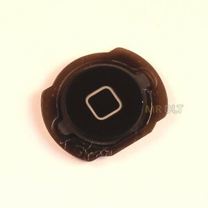 iPod Touch 4th Black Plastic Replacement Home Button Brand New - UK Seller