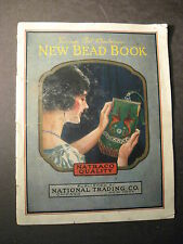 A BOOK OF NEW BEAD WORK 1924 Purse Design Beaded