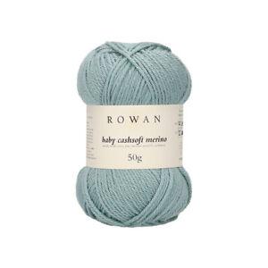 Rowan Baby Cashsoft Merino -  VARIOUS SHADES - 50g balls -
