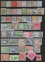 Collection of mixed mint/good used British Guiana stamps.
