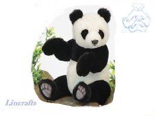 Jointed Panda Cub Plush Soft Toy by Hansa. 4473
