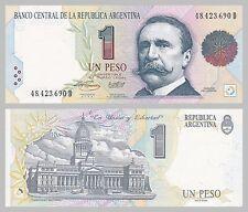 Argentinien / Argentina 1 Peso 1993 p339b unz.