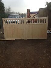 wooden driveway gates 6ft h x 12 ft w the oxford gates
