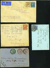 Great Britain 1900-20's Four Classic Covers One With