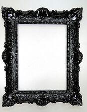 Cadre d'image baroque 56x46 photo ancien noir rectangulaire 30x40