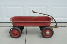 Vintage 1940s Murray Childs Pull Wagon Original Hubcaps Wheels