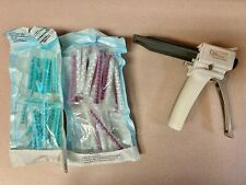 Henry Shein Dental Impression Dispensing Gun Includes Tips Used