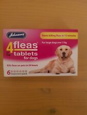 Johnson's 4 fleas 57 mg tablets for dogs  6 treatment pack
