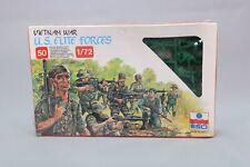 ZO080 ESCI 1/72 228 Figurine Force Elite US US Elite forces Vietnam War