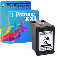 1x Patrone Black Schwarz EcoSerie für HP 300 XL HP300XL Photosmart C4700