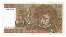 Billet France 10 Francs 1977