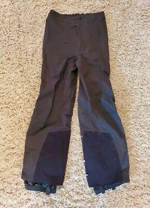 Mountain Hardwear Gore-Tex XCR Womens Gray Side Zip Snow Ski Pants Small