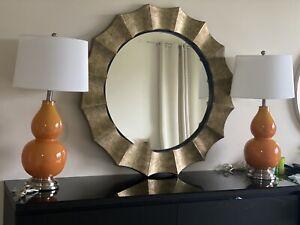 """Uttermost 06048 Gotham Antique Gold 41"""" Oversized Mirror"""