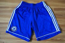 CHELSEA LONDON 2013/2014 HOME FOOTBALL SHORTS SOCCER ADIDAS SIZE MEN SMALL 32""