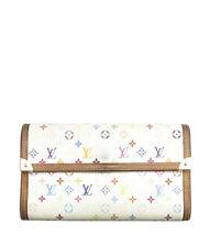 Louis Vuitton M61215 International Multicolore Monogram Snap Wallet