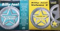 2 CDG KARAOKE LEGENDS DISCS BILLY JOEL GREATEST HITS VOL 1 & 2 CD+G 1980'S POP