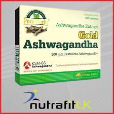 OLIMP GOLD ASHWAGANDHA 30 CAPS KSM-66 INDIAN GINSENG