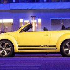 Volkswagen Beetle 2011-2018 turbo rocker Stripe Graphics Decals