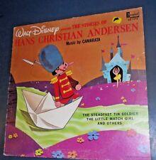 WALT DISNEY HANS CHRISTIAN ANDERSON STORY 1965 VINYL RECORD