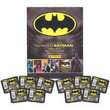 Panini - The World of Batman Sticker Collection - ALBUM & 10 PACKS - New